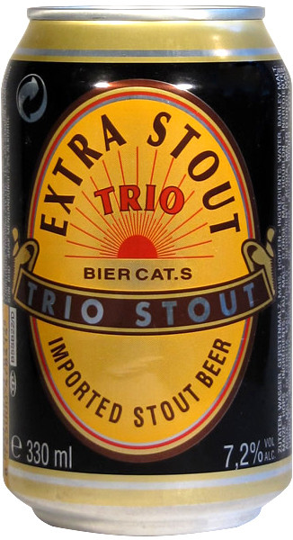 Trio, Extra Stout, in can
