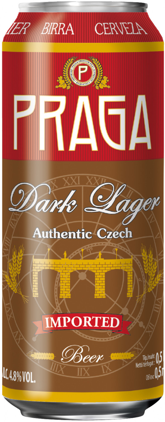 Praga, Dark Lager, in can