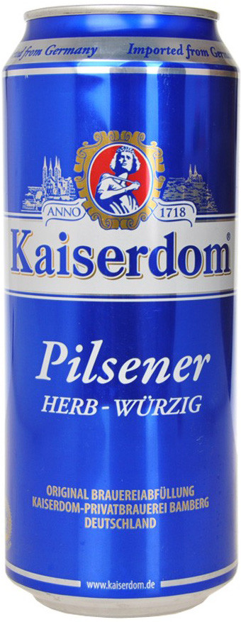Kaiserdom, Pilsener, Premium, in can