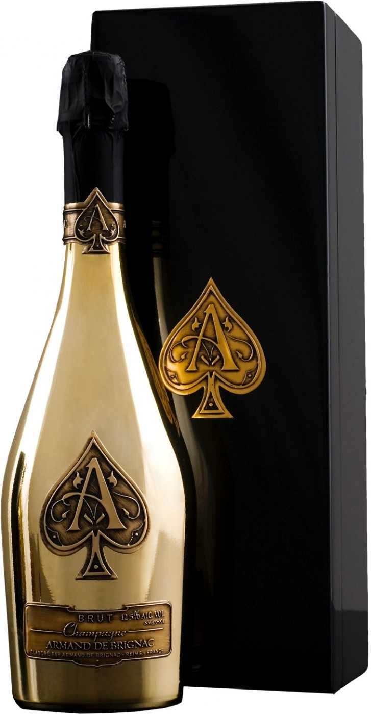 Armand de Brignac Brut Gold wooden box