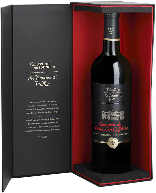 Collection personnelle. Mr Francois-L Vuitton, Cuvee Privee du Chateau La Gaffeliere, Saint-Emilion, Grand Cru, gift box