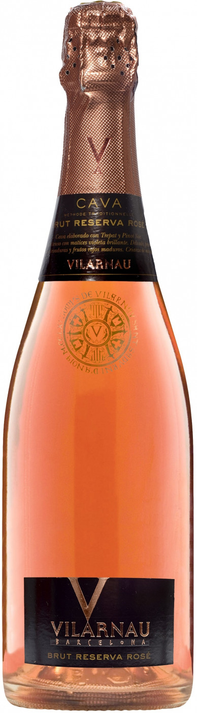 Wine Vilarnau Brut Reserva Rose Cava DO