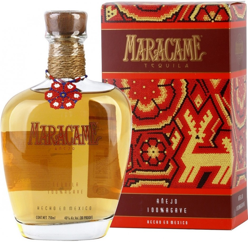 Maracame Anejo gift box 0.75 л