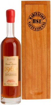 Saint-Etienne Rhum Hors d Age Grande Reserve Millesime Martinique AOC in wooden box 0.7 л