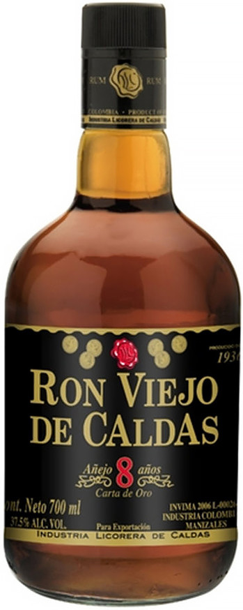 Viejo de Caldas Carta de Oro 8 Years Old 0.7 л