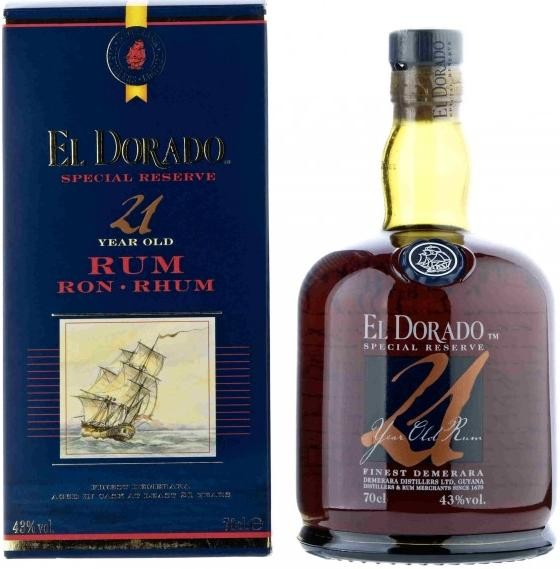 El Dorado Special Reserve 21 Years Old gift box 0.7 л