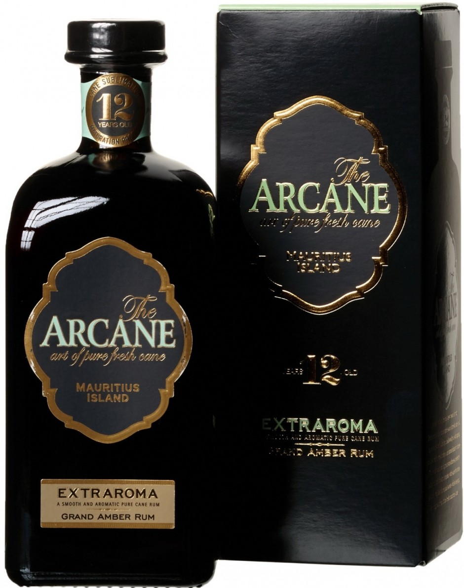 The Arcane, Extraroma, Grand Amber, 12 Years Old, gift box | Аркан, Экстрарома, Гранд Амбер, 12-летний, п.у.