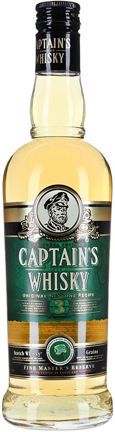 Captain`s Whisky, Bitter