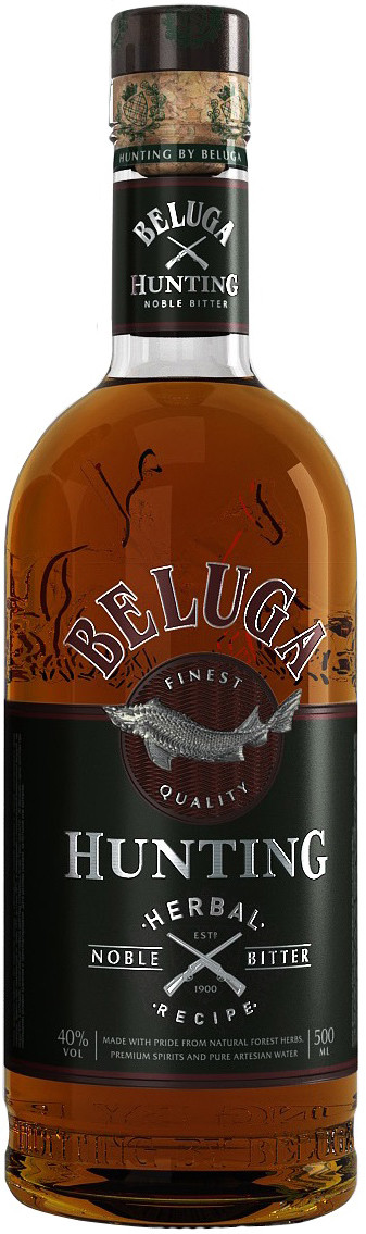 Beluga, Hunting, Herbal Bitter