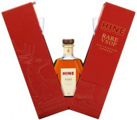 Hine, Rare, VSOP, gift set with 2 glasses