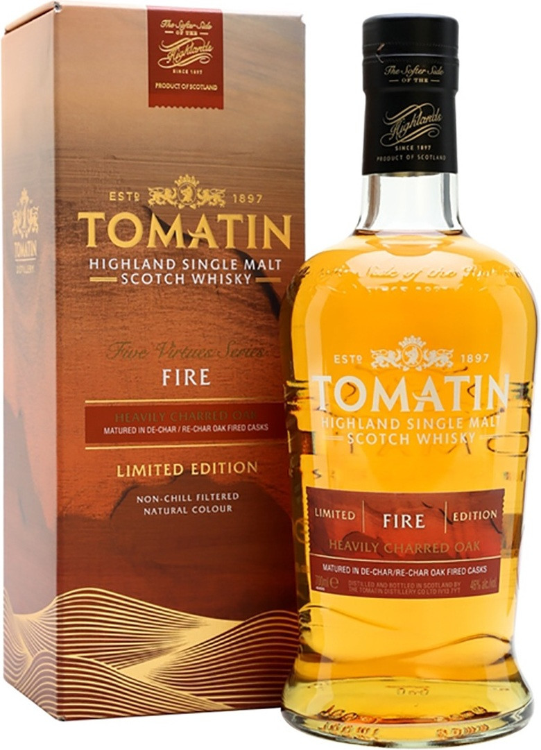 Tomatin Fire gift box 0.7 л