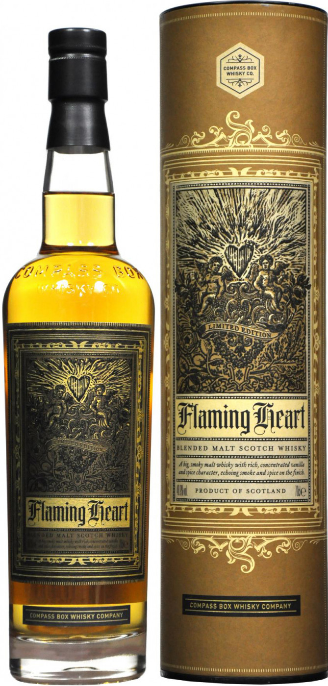 Compass Box Flaming Heart in tube 0.7 л