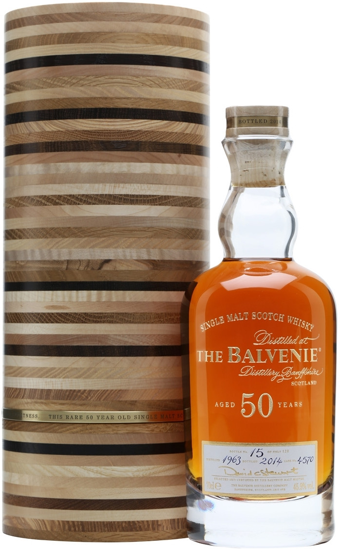 Balvenie, 50 Years Old, 42, in tube