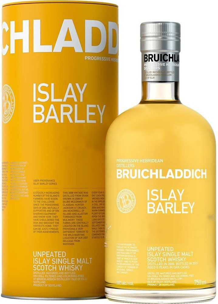 Bruichladdich, Islay Barley, in tube