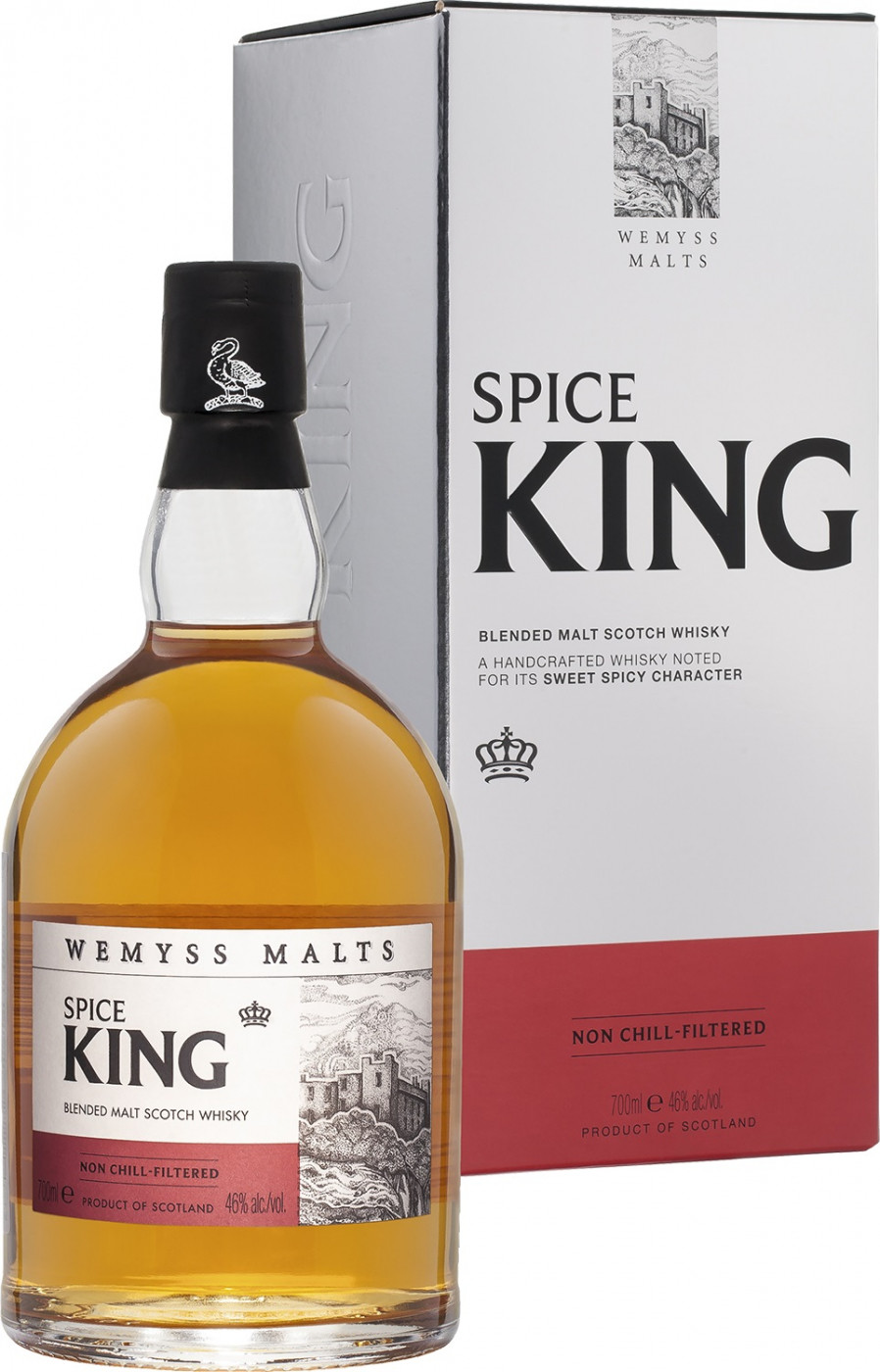 Spice King Blended Malt gift box 0.7 л