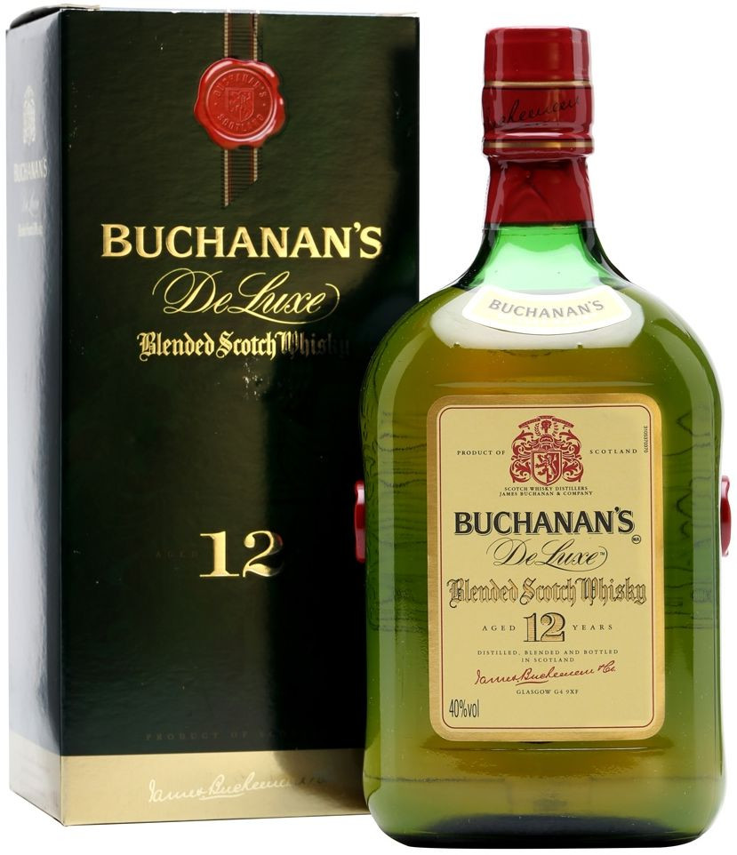 Buchanan s De Luxe 12 Years Old gift box 0.75 л