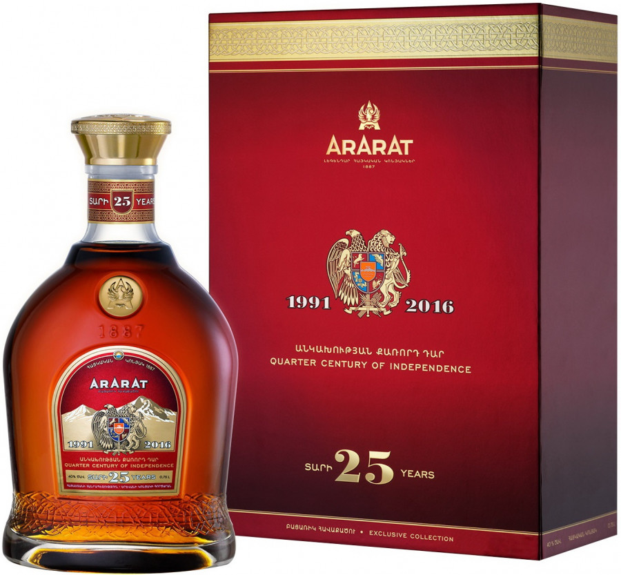 Ararat 25 Years Old gift box 750 мл