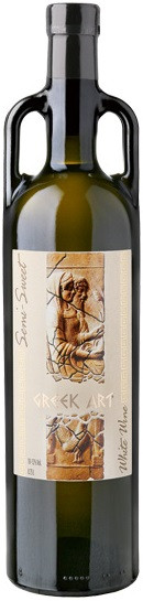 Dionysos Wines, Greek Art, White, Semi-Sweet