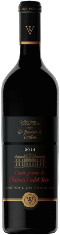 Collection personnelle. Mr Francois-L Vuitton Cuvee Privee du Chateau Cadet-Bon Saint-Emilion Grand Cru AOC gift box