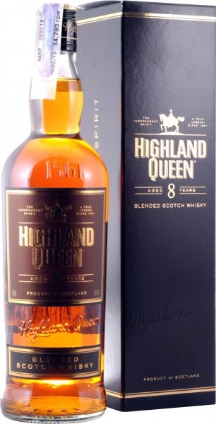 Highland Queen 8 Years Old, gift box