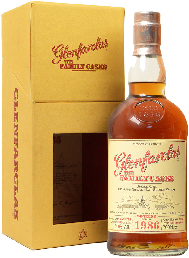 Glenfarclas Family Casks 548 gift box 0.7 л