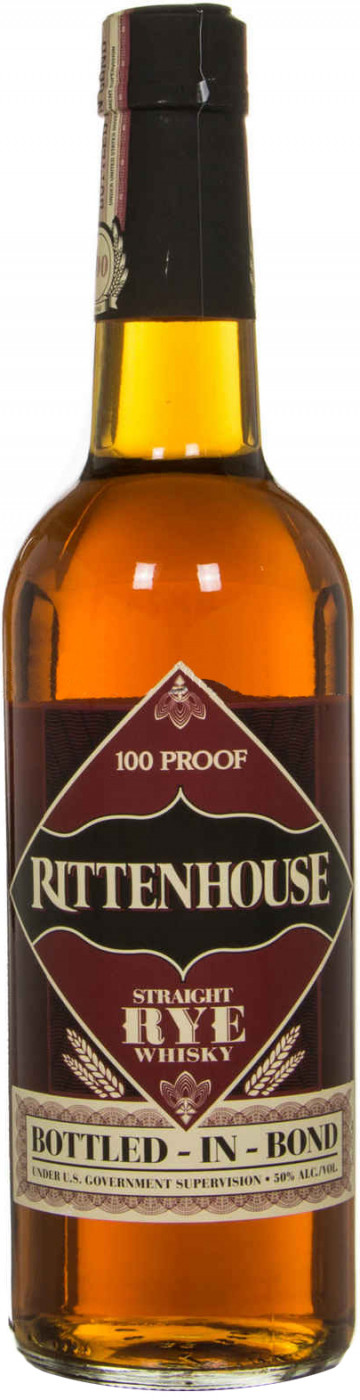 Rittenhouse Rye Bottled in Bond
