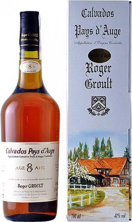 Roger Groult Calvados 8 ans d age gift box 0.7 л