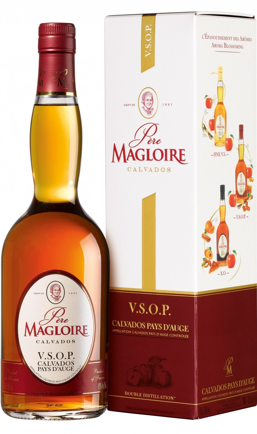 Pere Magloire VSOP with gift box 0.7 л