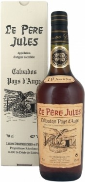 Le Pere Jules 10 Years Old AOC Calvados Pays d Auge gift box 0.7 л