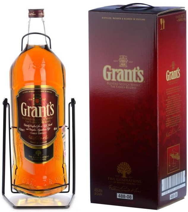 Grant`s, Family Reserve,  gift box (with cradle)