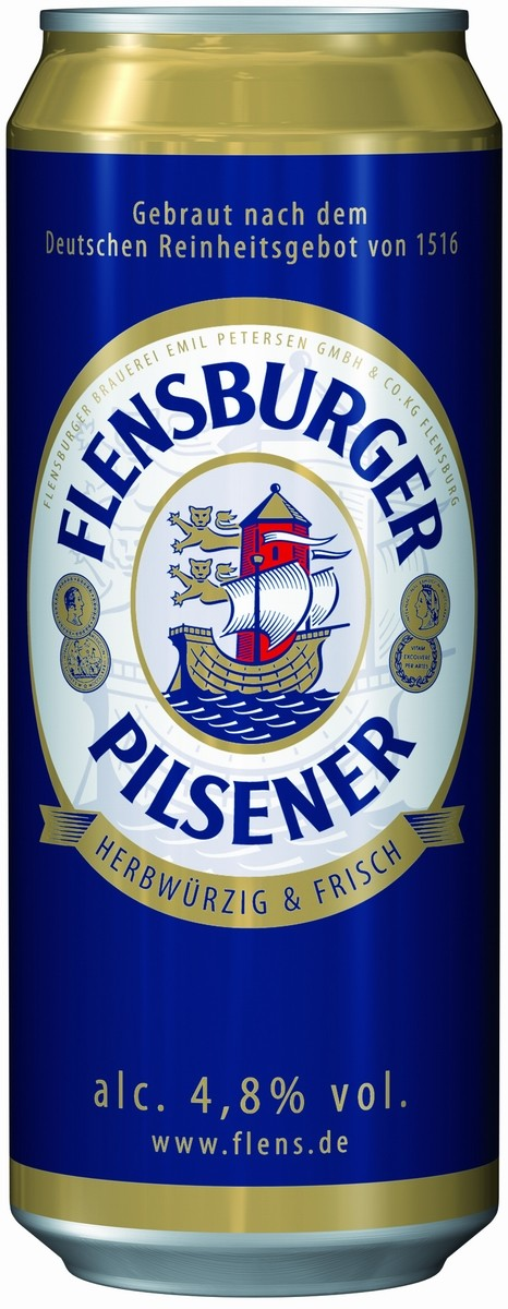 Flensburger Pilsener in can