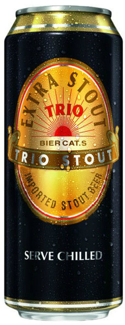 Trio Extra Stout, can