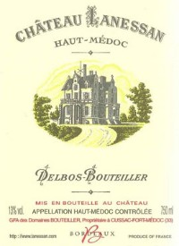 Chateau Lanessan Cru Bourgeois Haut-Medoc AOC Rouge 375 мл