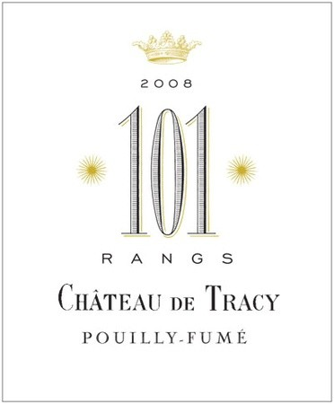 Chateau de Tracy, 101 Rangs, Pouilly Fume