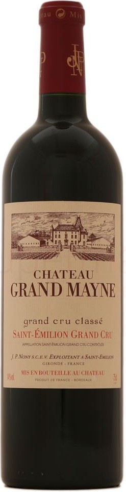 Chateau Grand Mayne Saint-Emilion Grand Cru AOC | Шато Гран Майн