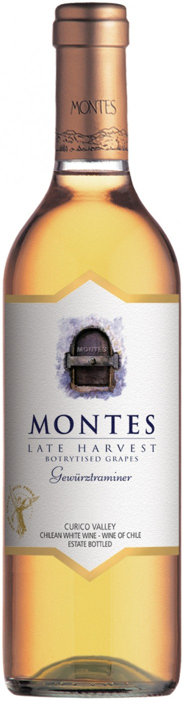 Montes, Late Harvest, Gewurztraminer, Curico Valley