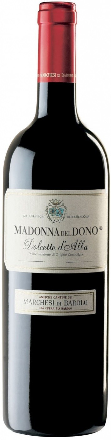 Marchesi di Barolo, Madonna del Dono, Dolcetto d`Alba | Маркези ди Бароло, Мадонна дель Доно, Дольчето д`Альба