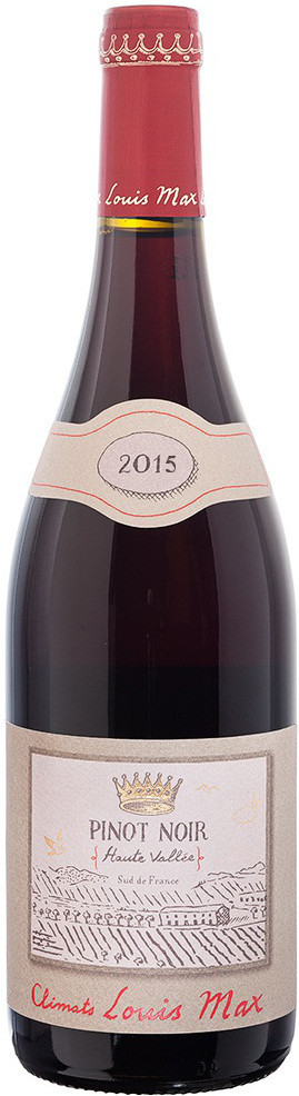 Louis Max Haute Vallee Pinot Noir Pays d Oc IGP