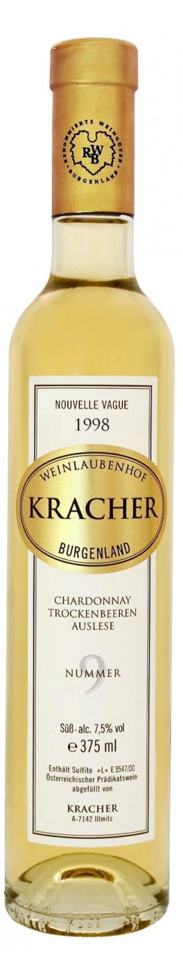 Kracher TBA 9 Chardonnay Nouvelle Vague 375 мл