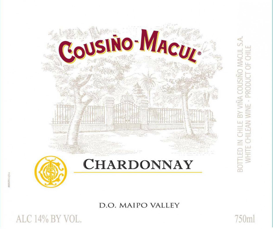 Cousino-Macul Chardonnay Maipo Valley