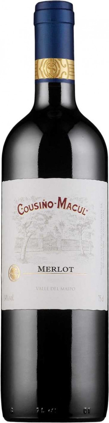 Cousino-Macul Merlot Central Valley