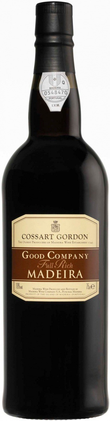 Cossart Gordon Good Company Full Rich