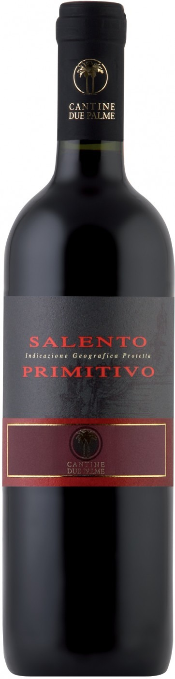 Due Palme, Primitivo, Salento