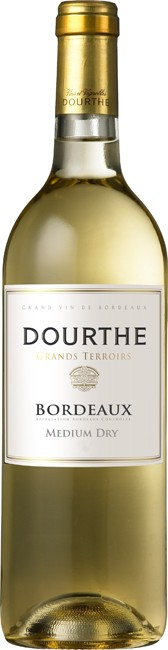 Dourthe, Grands Terroirs, Bordeaux, Blanc, Medium Dry