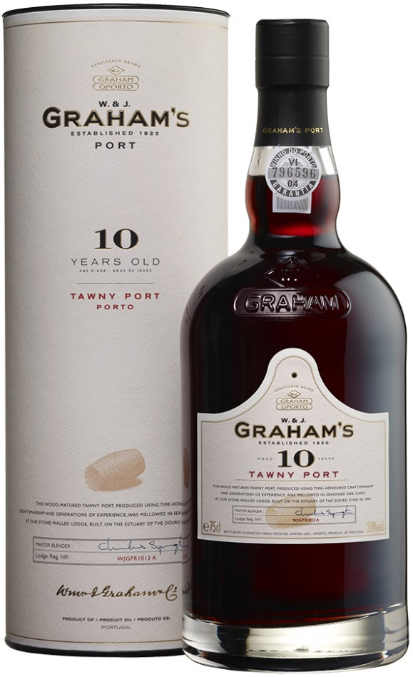 Graham s 10 Year Old Tawny Porto in tube