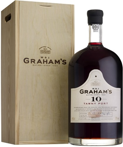Graham s 10 Year Old Tawny Port wooden box 4500 мл