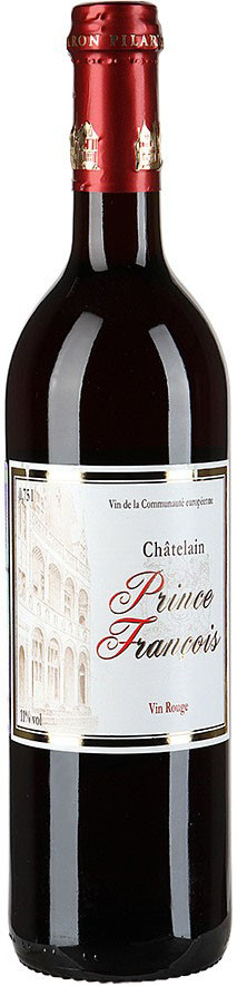 Chatelain Prince Francois, Rouge, Moelleux
