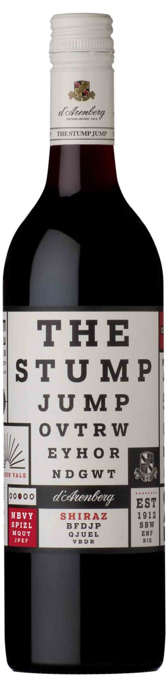 d'Arenberg, The Stump Jump, Shiraz | д'Аренберг, Стамп Джамп, Шираз