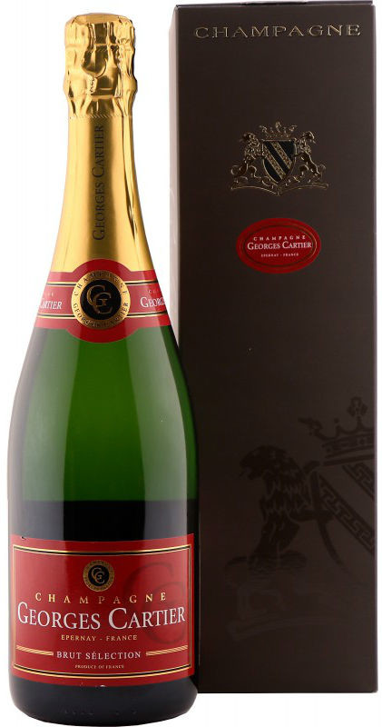 Champagne Georges Cartier Selection Brut gift box