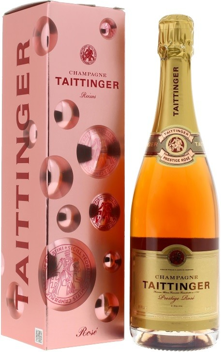 Taittinger, Prestige Rose, Brut, gift box